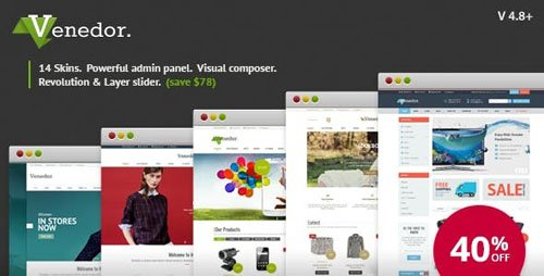ThemeForest - Venedor v2.6.2 - WordPress + WooCommerce Theme - 7807674