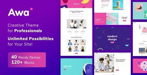 ThemeForest - Portfolio AWA v1.3.3 - Portfolio WordPress Portfolio & Agency - 21831495