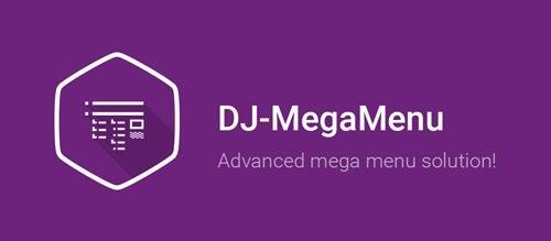 DJ-MegaMenu Pro v4.0 - Extension For Joomla