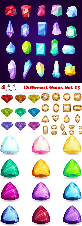 Vectors - Different Gems Set 15