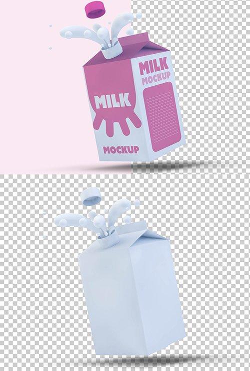 PSDT Milk Carton Mockup 250706240