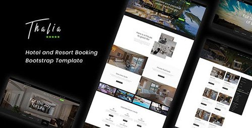 ThemeForest - Thalia v1.0 - Hotel and Resort Booking Bootstrap Template - 22937162