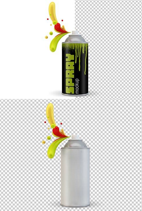 PSDT Spray Can Mockup 250707183