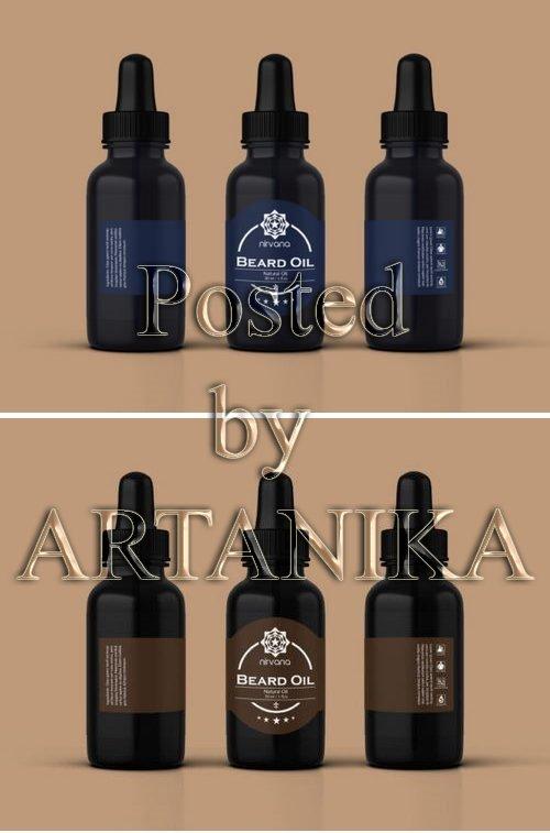Beard Oil Label Templates