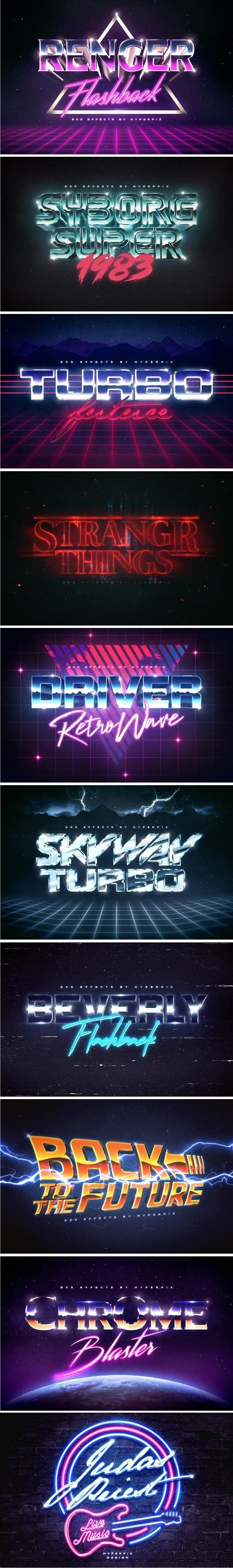 80s Text Effects Vol3 - 3479338