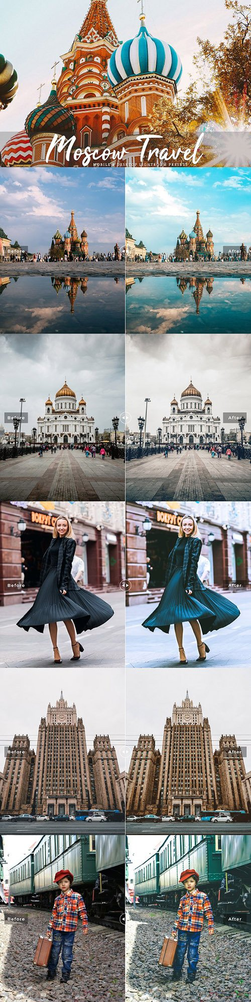 Moscow Travel Lightroom Presets 3504351