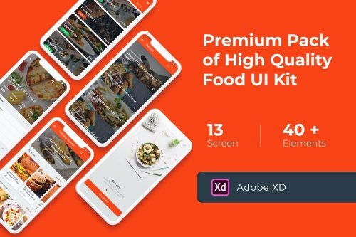 Food Cooking Recipes UI KIT for