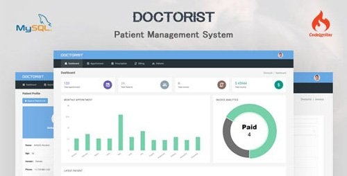 CodeCanyon - Doctorist v1.0.0 - Patient Management System - 21976287
