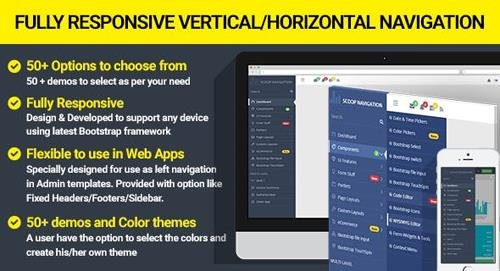 CodeCanyon - Dropdown Sidebar Menu Responsive Bootstrap Navigation (Update: 25 March 17) - 19607138