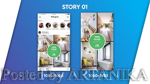 Real Estate - Instagram Pack 184222