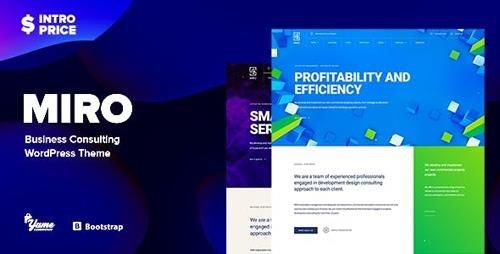ThemeForest - Miro v1.0 - Business Consulting WordPress Theme - 22038165