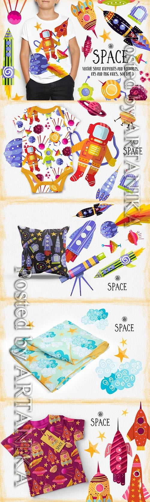 Vector Space Elements and Patterns