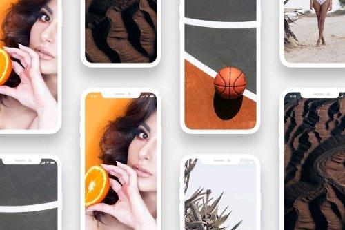 iPhoneXS vector mockup
