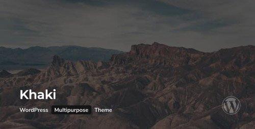 ThemeForest - Khaki v2.0.0 - Responsive Multi-Purpose WordPress Theme - 19968221