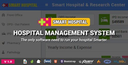 CodeCanyon - Smart Hospital v1.0 - Hospital Management System - 23205038 - NULLED