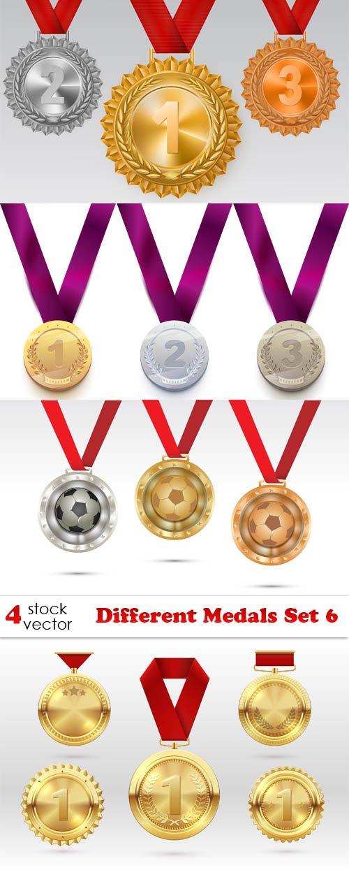 Vectors - Different Medals Set 6