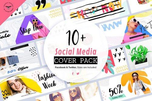Social Media Cover Templates - 67UQ2G