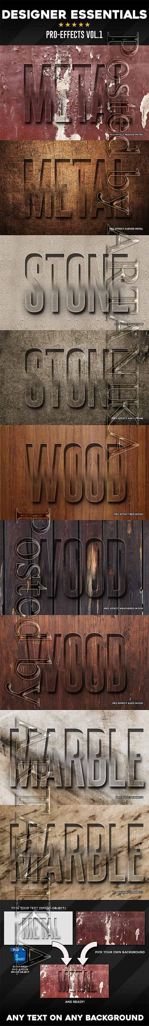 GraphicRiver - Pro Text Effects Vol1 21665688