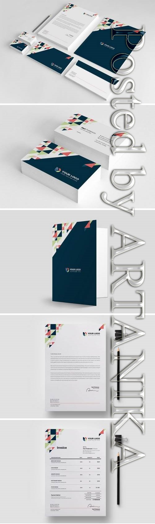 Business Stationery Template 26