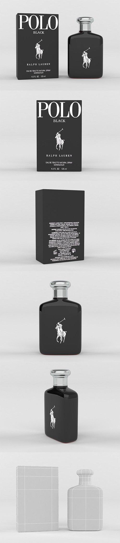 Polo Black by Ralph Lauren for Men 3D model