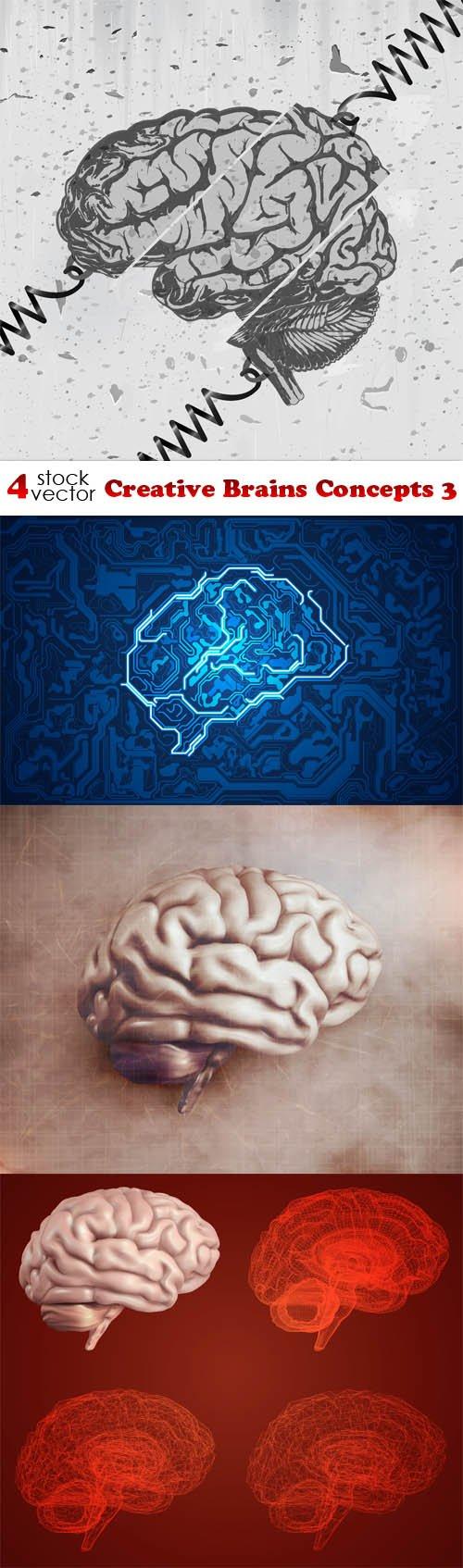 Vectors - Creative Brains Concepts 3