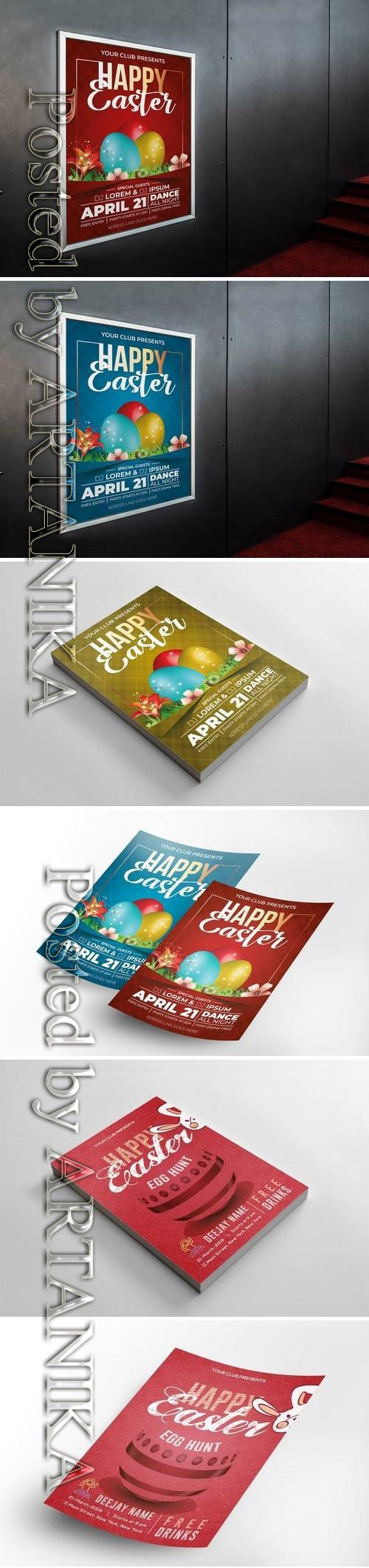 Easter Flyers