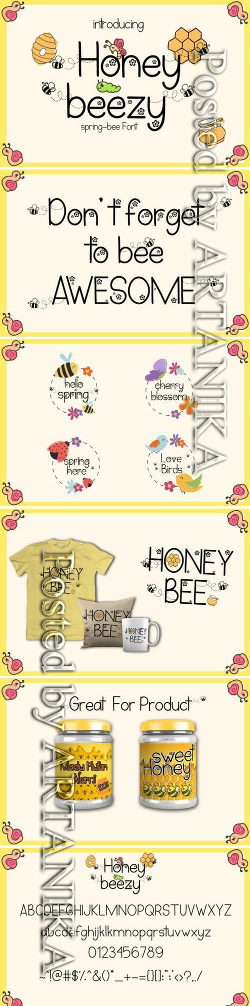 Honey Beezy Font
