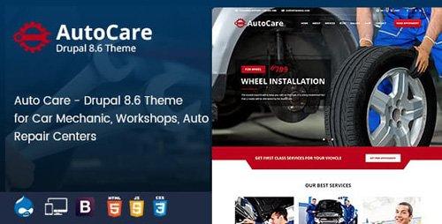 ThemeForest - Auto Care v1.0 - Drupal 8.6 Theme for Car Mechanic, Workshops, Auto Repair Centers - 22867082