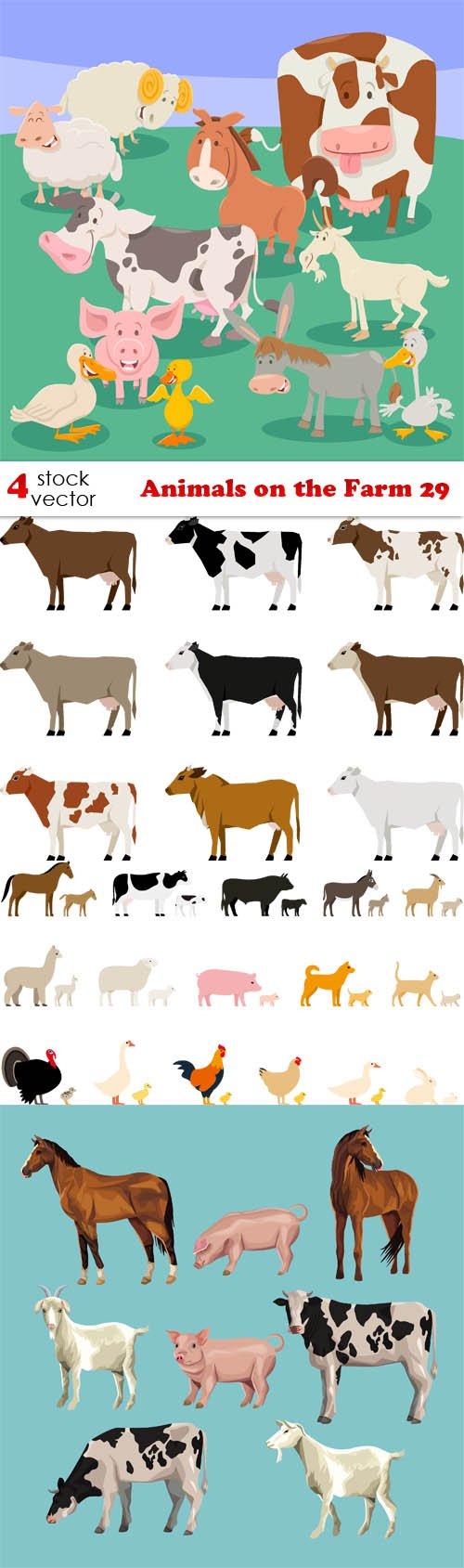 Vectors - Animals on the Farm 29