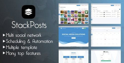 CodeCanyon - Stackposts v4.4 - Social Marketing Tool - 21747459 - NULLED