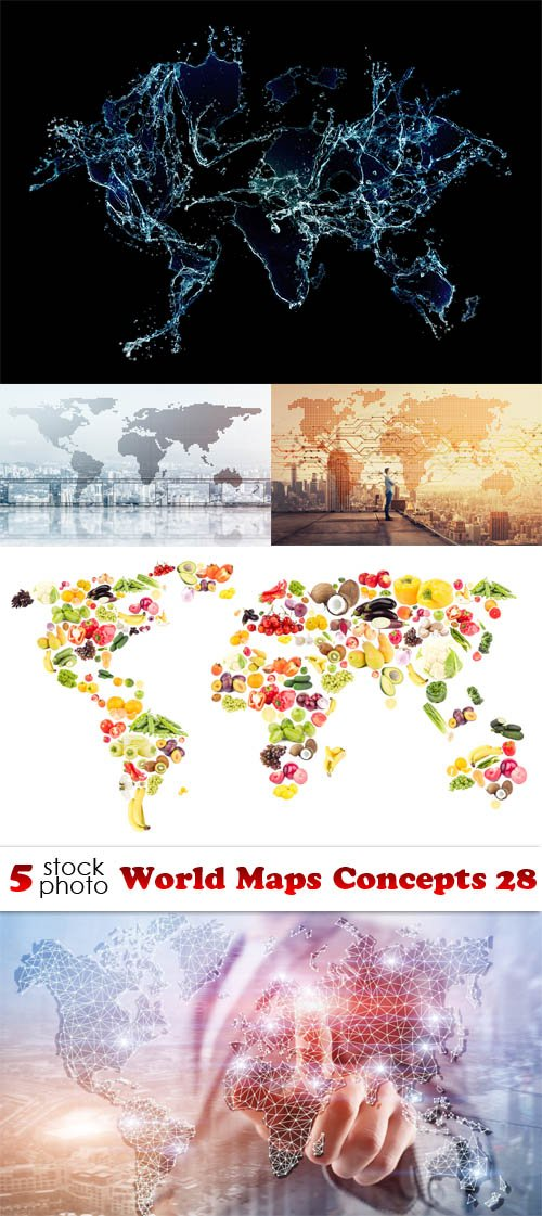 Photos - World Maps Concepts 28