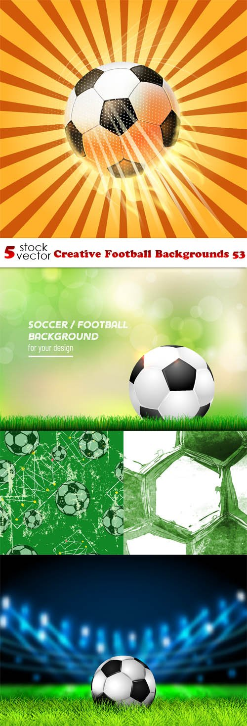 Vectors - Creative Football Backgrounds 53
