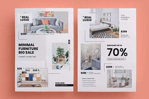 Vector Furniture Promo Flyer