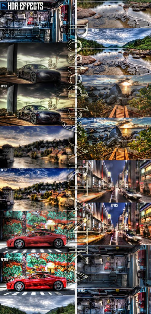 GraphicRiver - HDR Effects 21470497