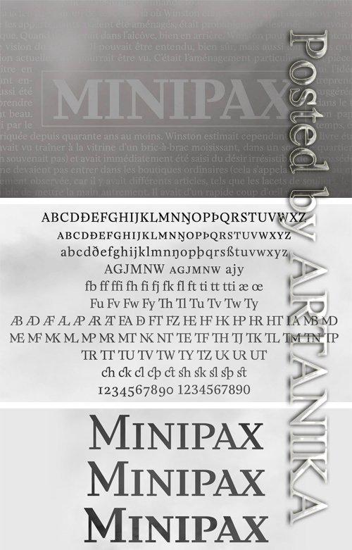 Minipax Font Family