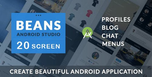 CodeCanyon - BEANS UI KIT v1.0 - Android App template - 17321613