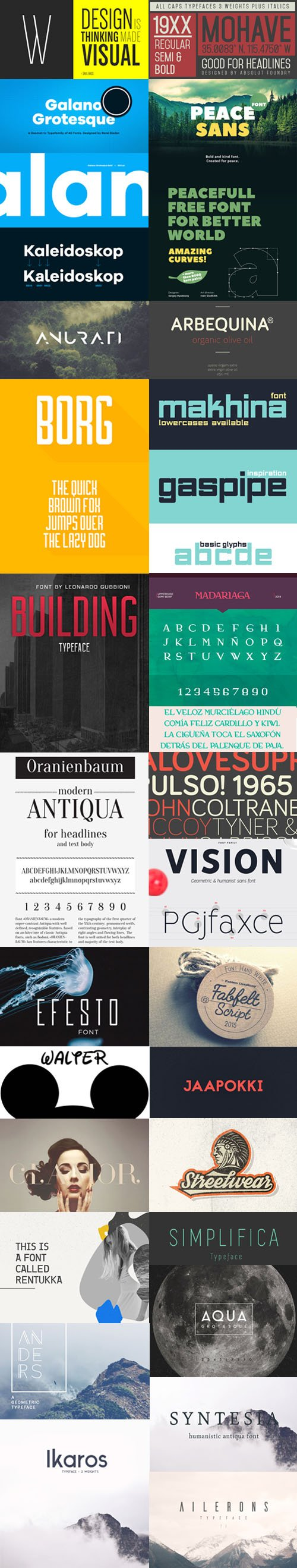 25 Best Fonts to Enhance Your Next Design Work
