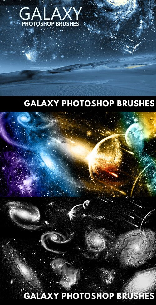 Galaxy Brushes for Photoshop