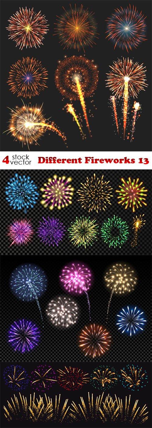 Vectors - Different Fireworks 13