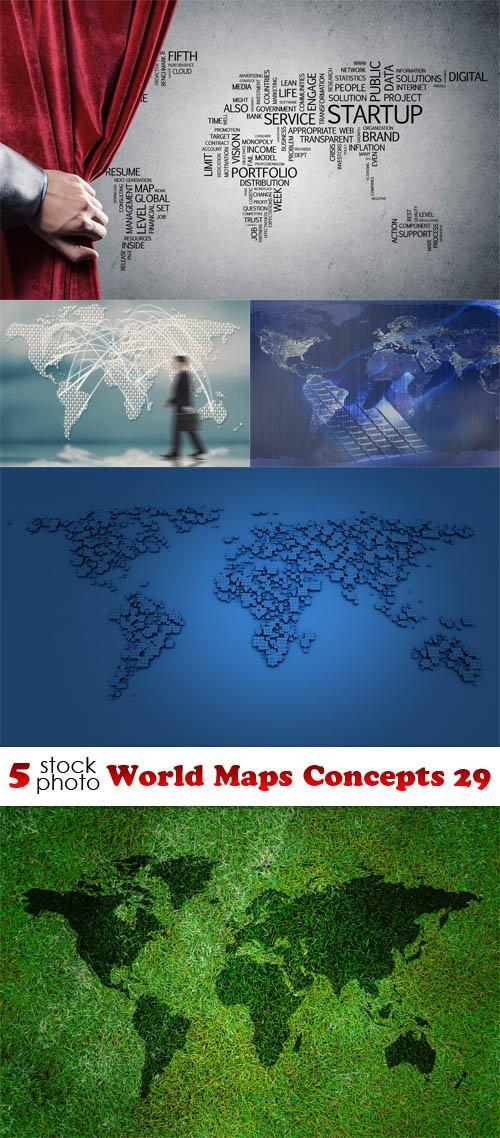 Photos - World Maps Concepts 29