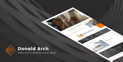 ThemeForest - Donald Arch - Responsive Architecture HTML5 Template (Update: 17 January 17) - 18678793