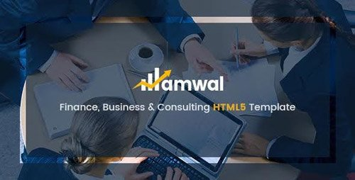 ThemeForest - Amwal v1.0 - Business & Financial HTML5 Template - 18099181