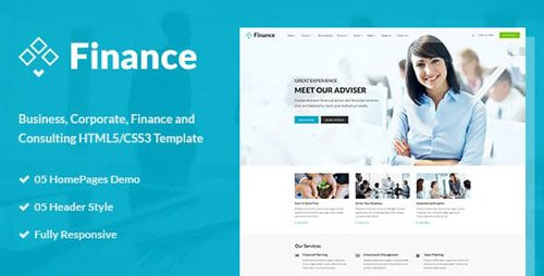 ThemeForest - Finance - Business & Financial HTML5 Template (Update: 16 February 17) - 16043196