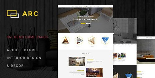 ThemeForest - ARC - Interior Design Decor Architecture Business Template (Update: 28 March 17) - 16683156
