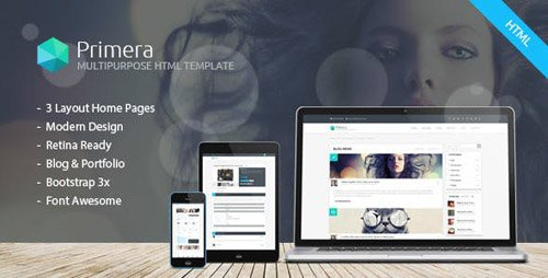 ThemeForest - Primera - Business Multipurpose Responsive HTML5 Template (Update: 25 August 16) - 17249250