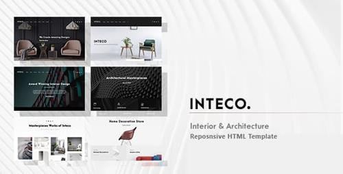 ThemeForest - Inteco v1.0 - Interior & Architecture HTML Template - 23147503