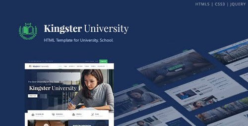 ThemeForest - Kingster v1.0 - Education HTML Template - 23276532