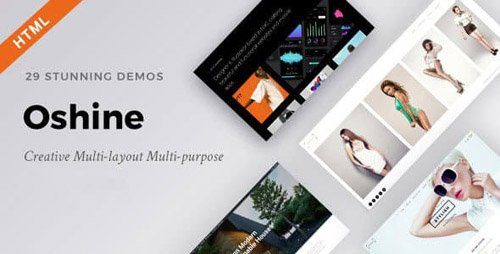 ThemeForest - Oshine - Creative Multi-Purpose HTML Template (Update: 29 December 17) - 11698505