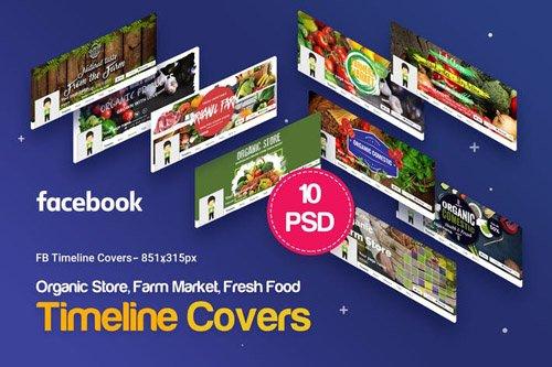 Organic Store, Farm Market, Fresh Food FB Covers
