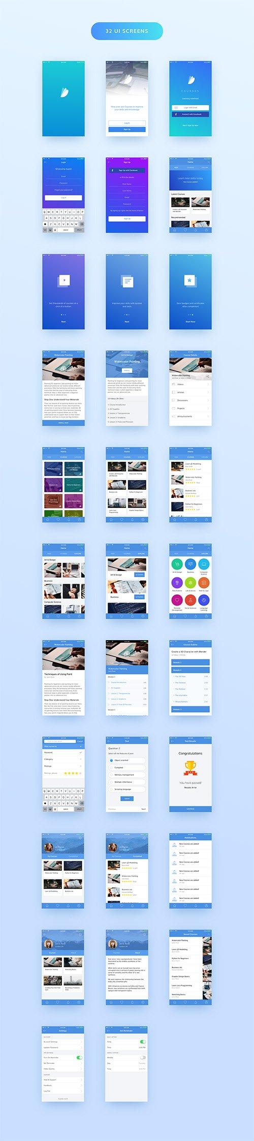 Courses iOS UI Kit